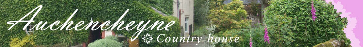 Auchencheyne Country House holiday cottage and B&B Dumfries