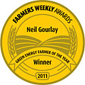 Mark Gourlay Green Energy Farmer of the Year Award